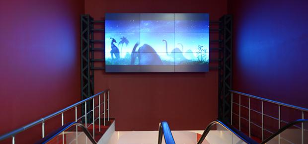 Wideowall Atrium